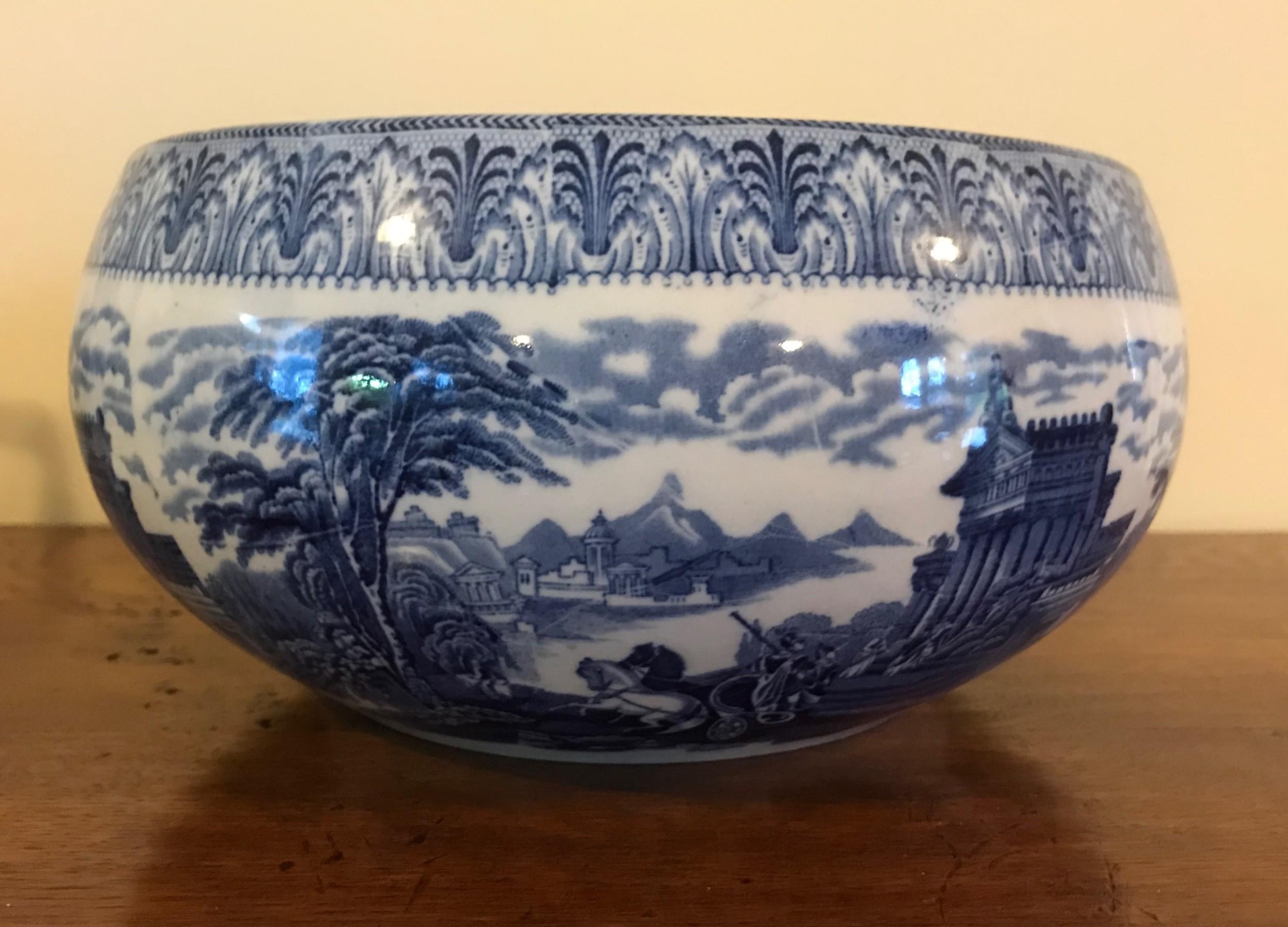 large cauldon chariots bowl 22 cm