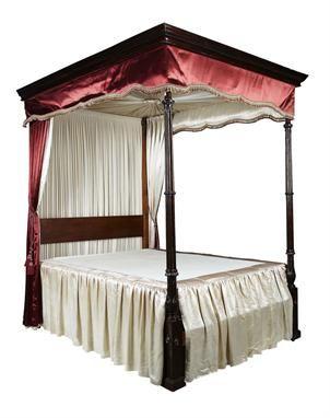 regency mahogany four poster bed