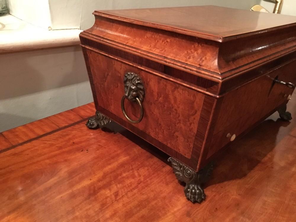 fabulous rare regency satin birch box