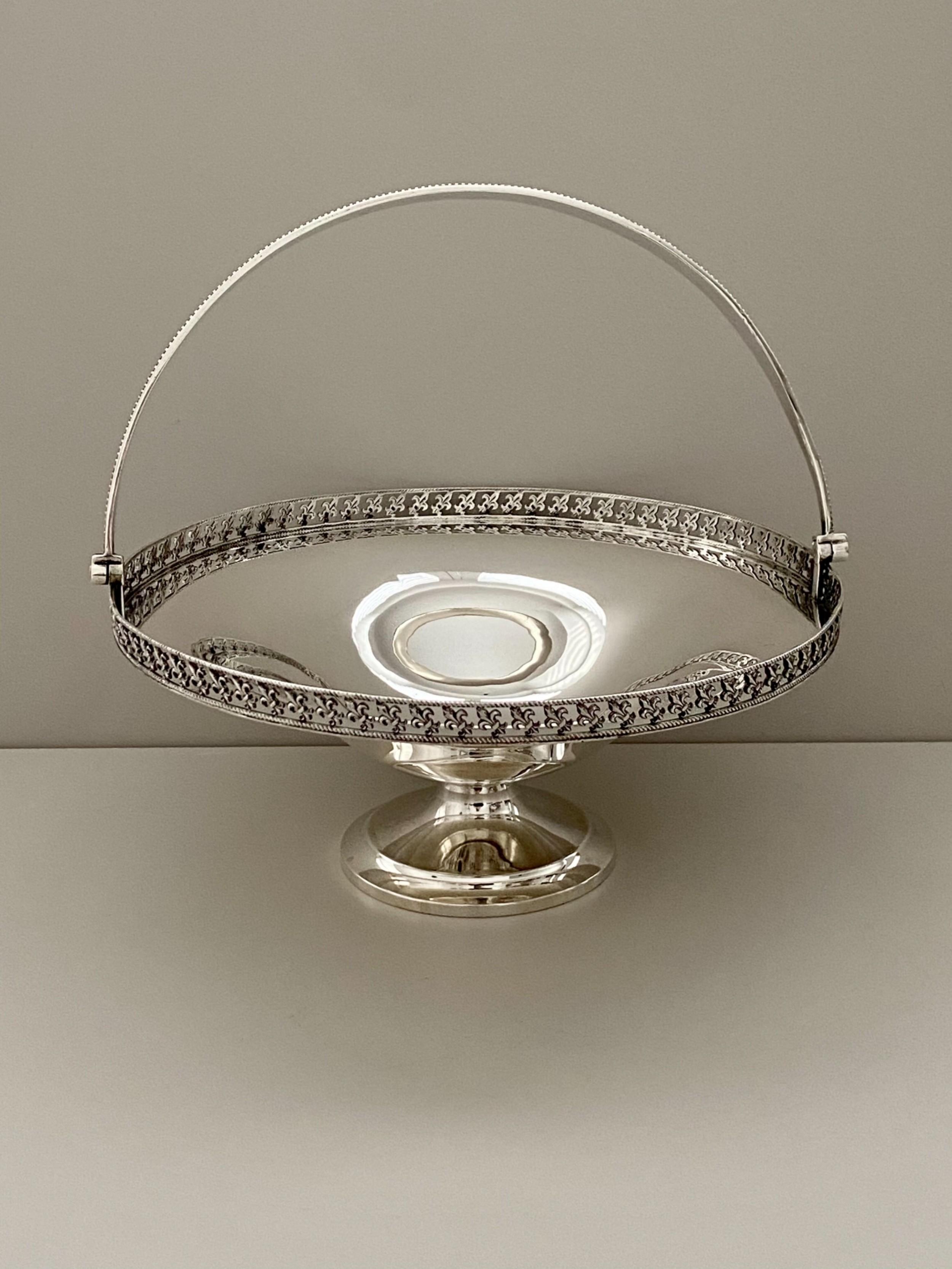 mappin webb silver basket london 1914