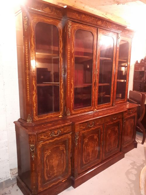 Antique Breakfront Cabinets - Antique Breakfront Cabinets - The UK's Largest Antiques Website