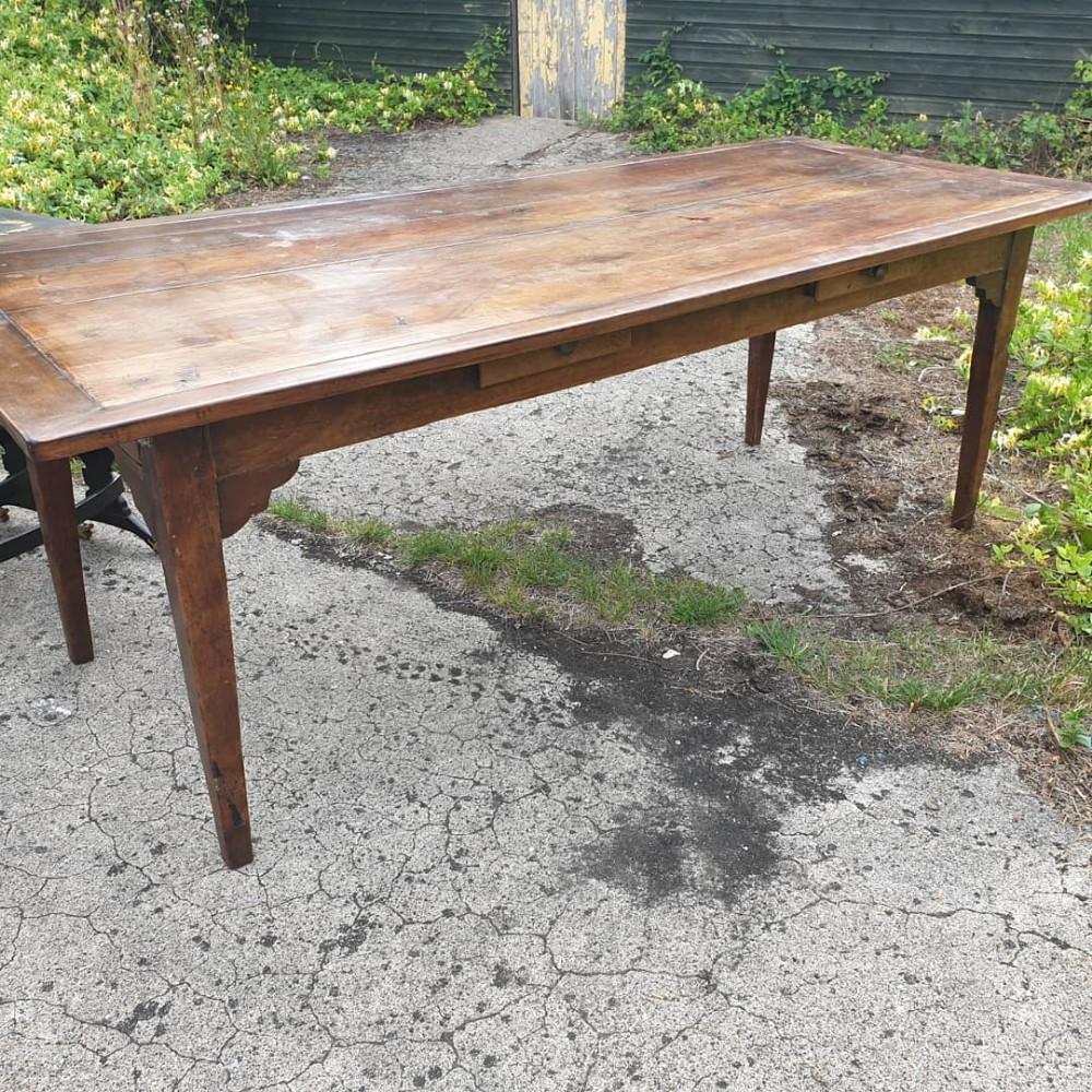 10 seater farmhouse dining table
