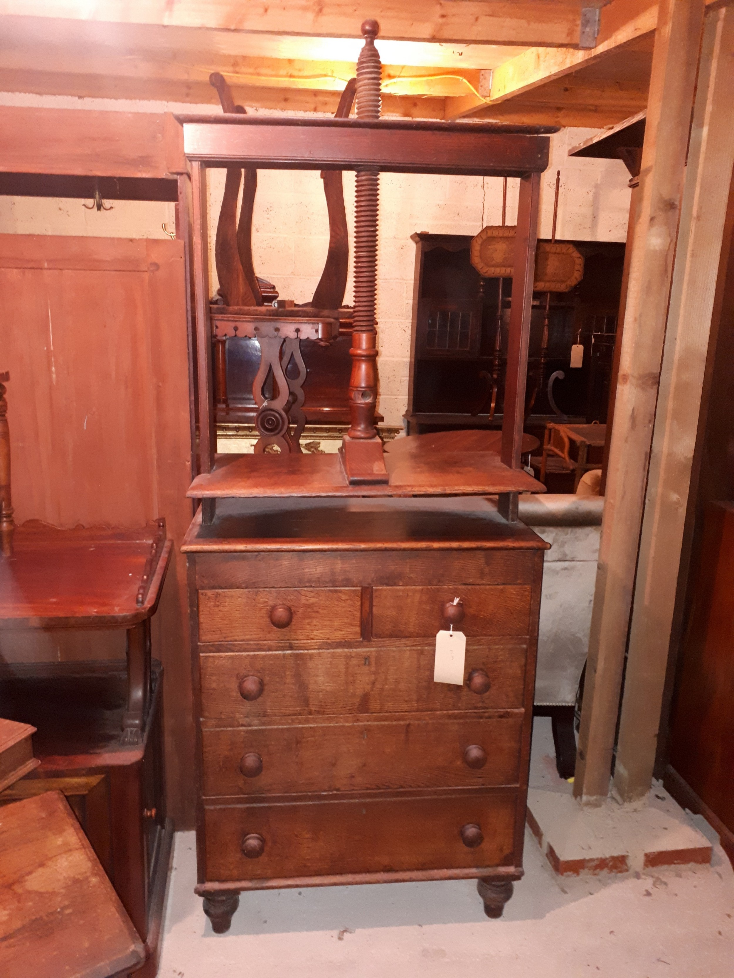 early victorian book press
