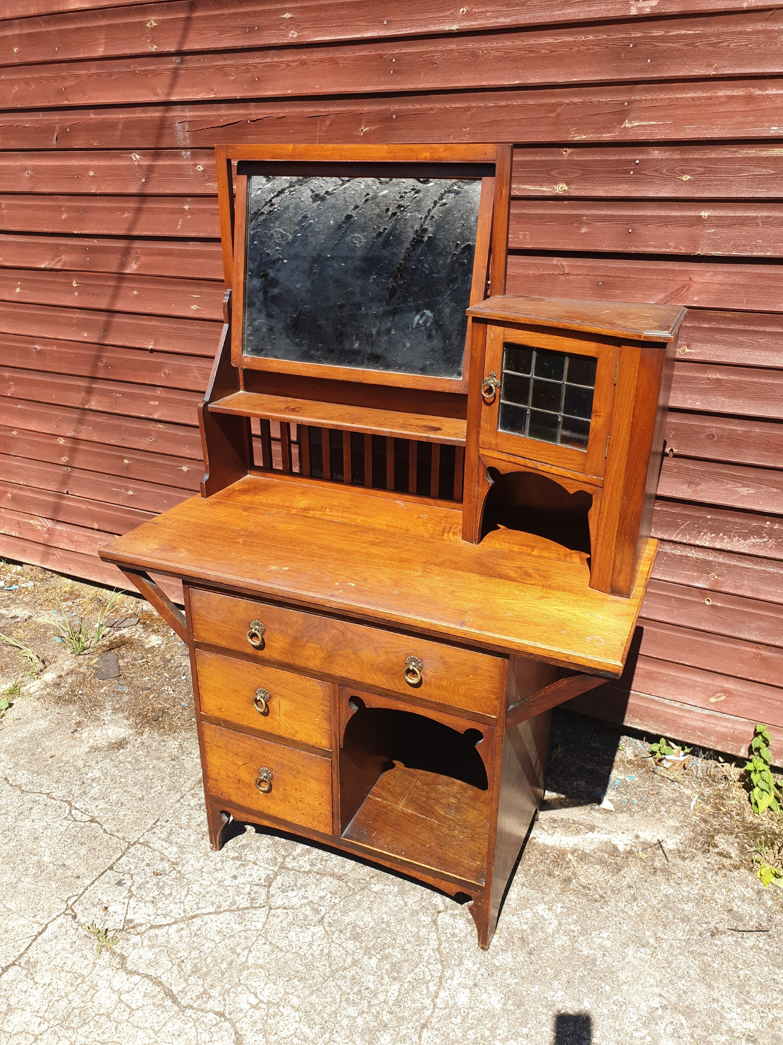 late victorian liberty's style dressing table