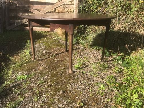 george ii pad foot gateleg table