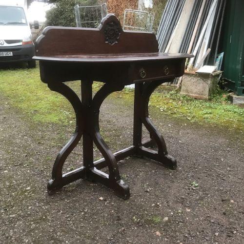 w bishop birmingham reformed gothic oak table