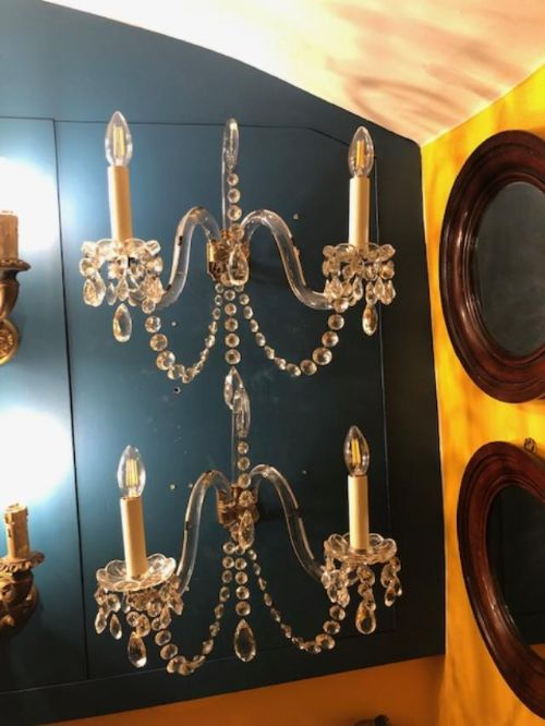 pair of 19th century wall sconces