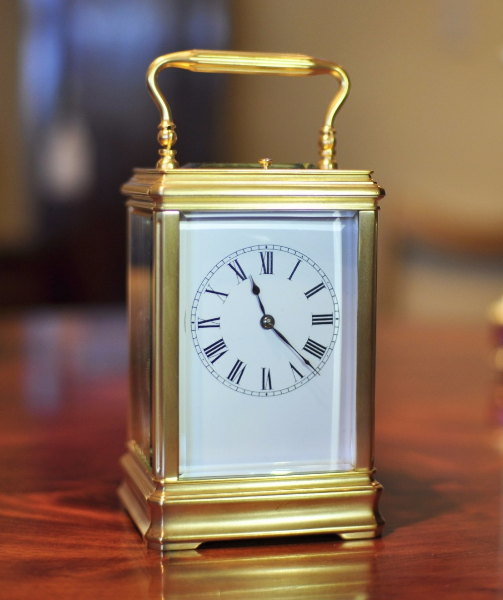 carriage clock with push repeat richard co