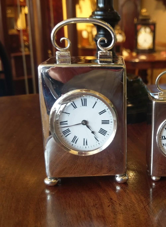 william comyns silver timepiece