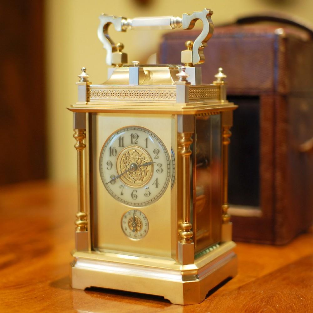 richard co push repeat carriage clock