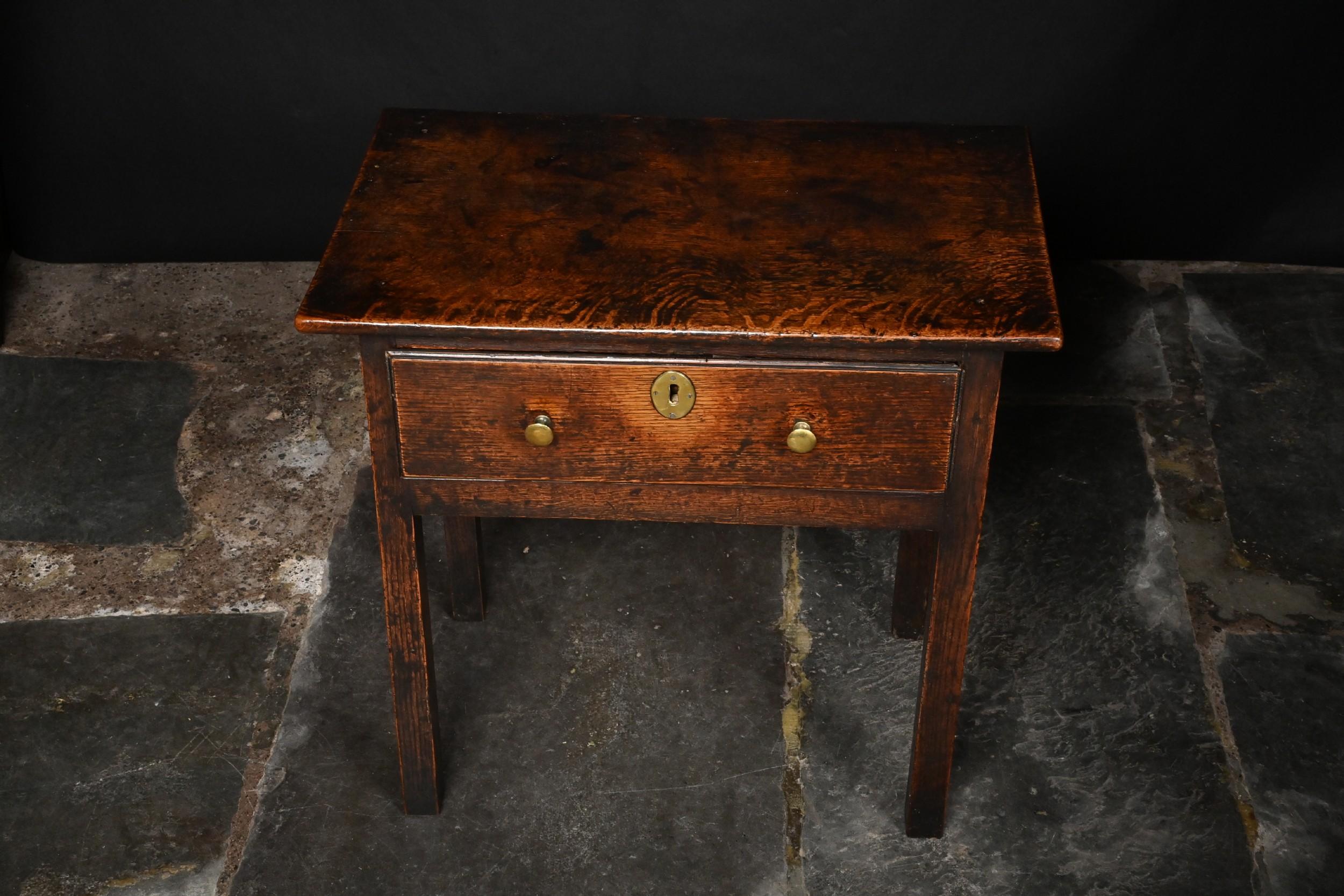 welsh oak cardiganshire side table
