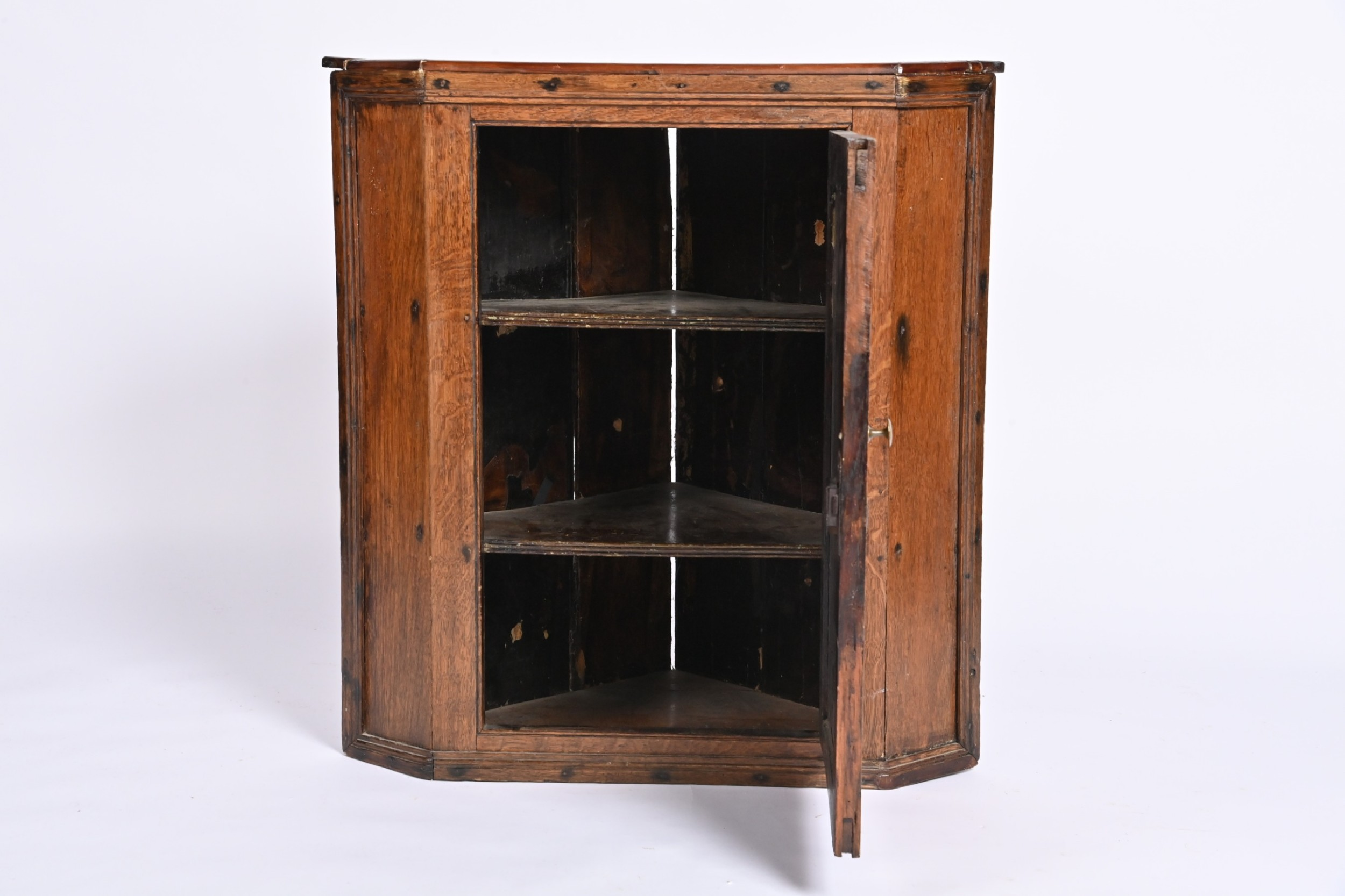 georgian oak wessex corner cupboard