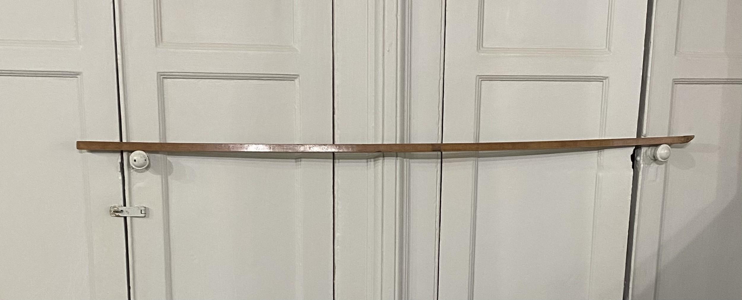 a treen regency ale house barrel measuring rod