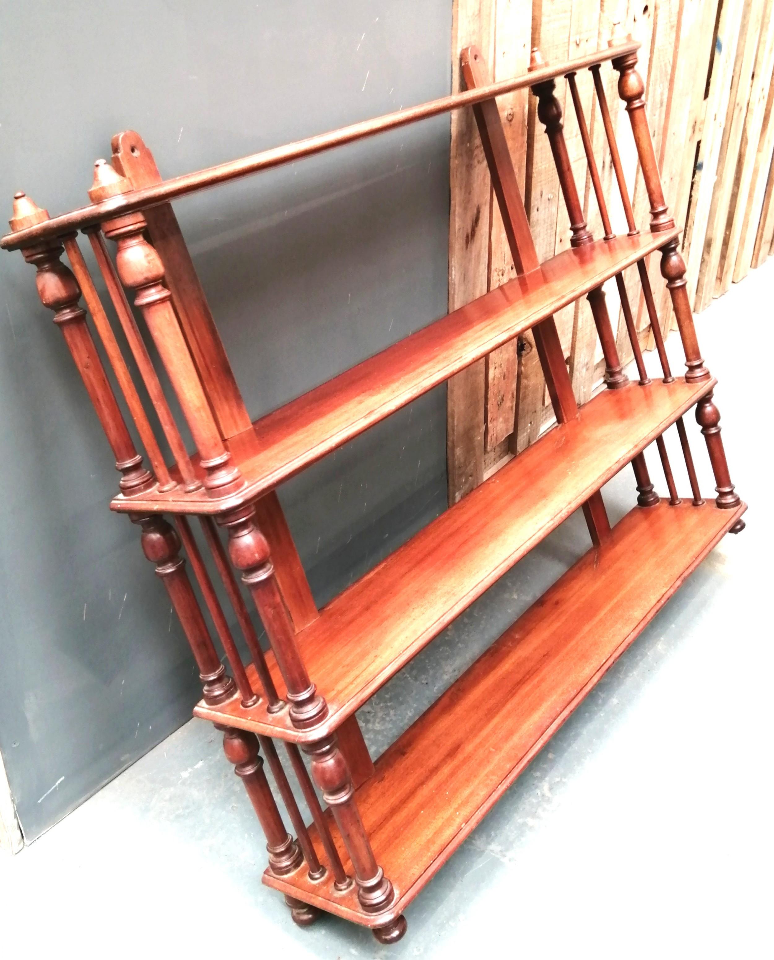 a fine country house regency hanging shelf