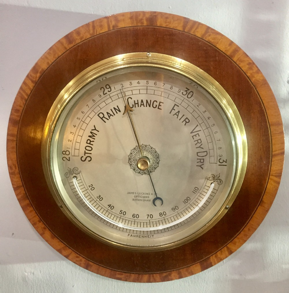 thermometer barometer early 20th c