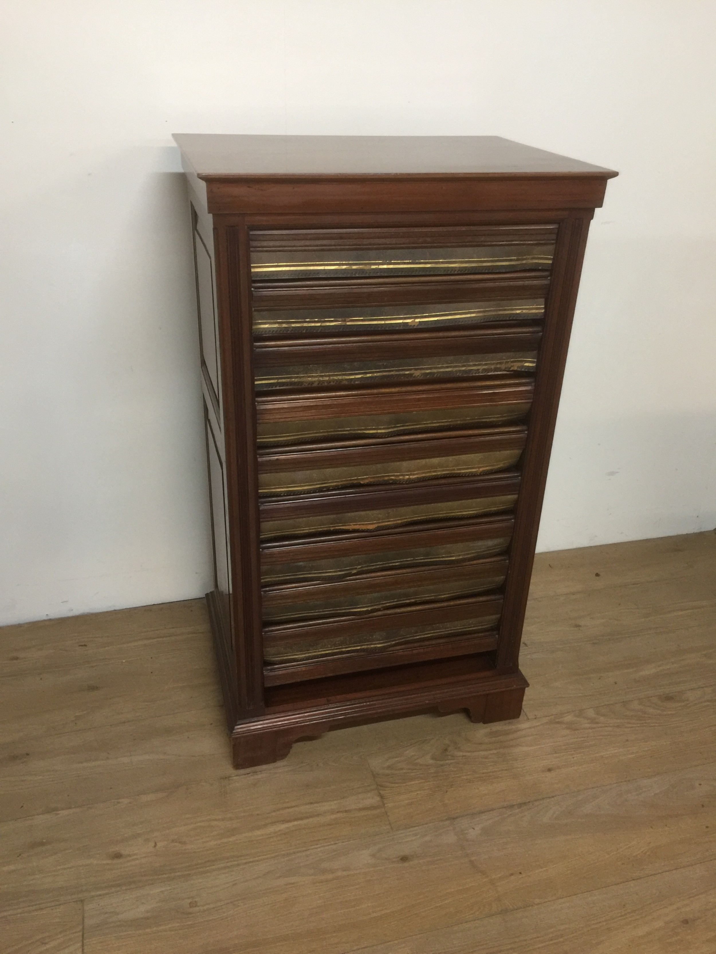 nineteenth century museum folio cabinet