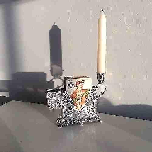 silver candlesticks hanau silver 830 equivalent 925 silver c 1880 germansilvermarks