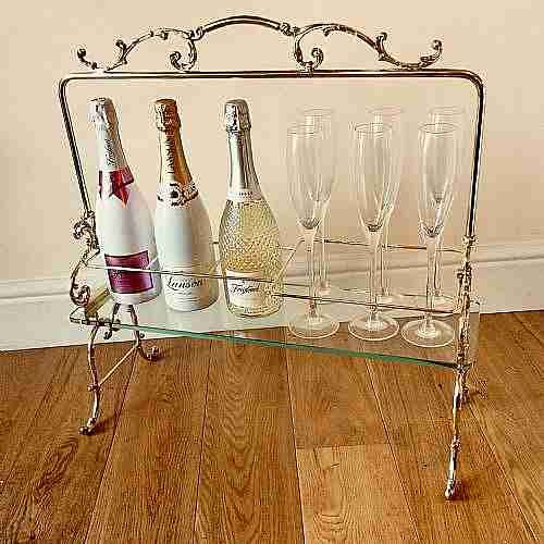 cocktail cabinetswine rack french c1910