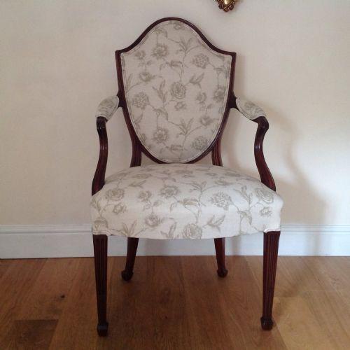 armchair18th c hepplewhite armchair english c1780 immaculate