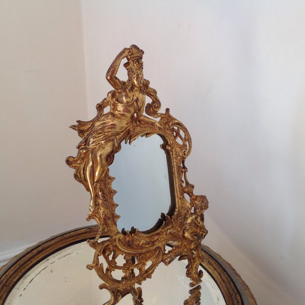 mirrorsornate victorian gilded mirror with decorative easel backregistration mark