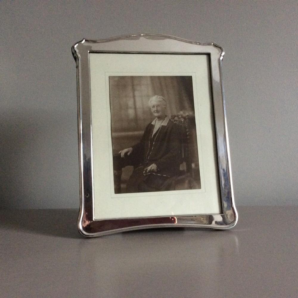 silver photo frame zimmerman birmingham 1923