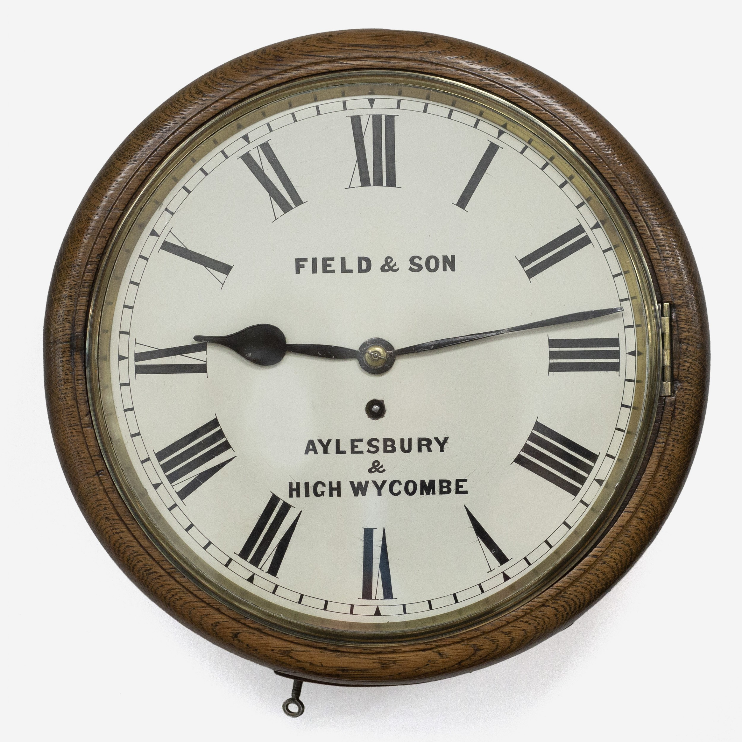 fusee english dial clock field sons