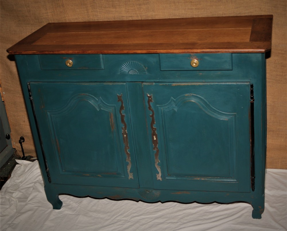 french provincial painted oak dresser circa 185060
