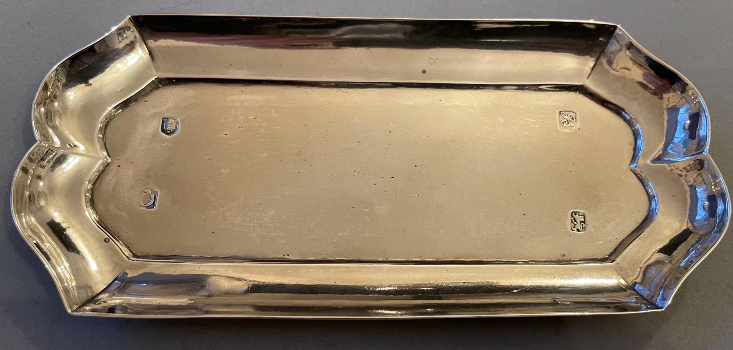 george ii silver spoon tray