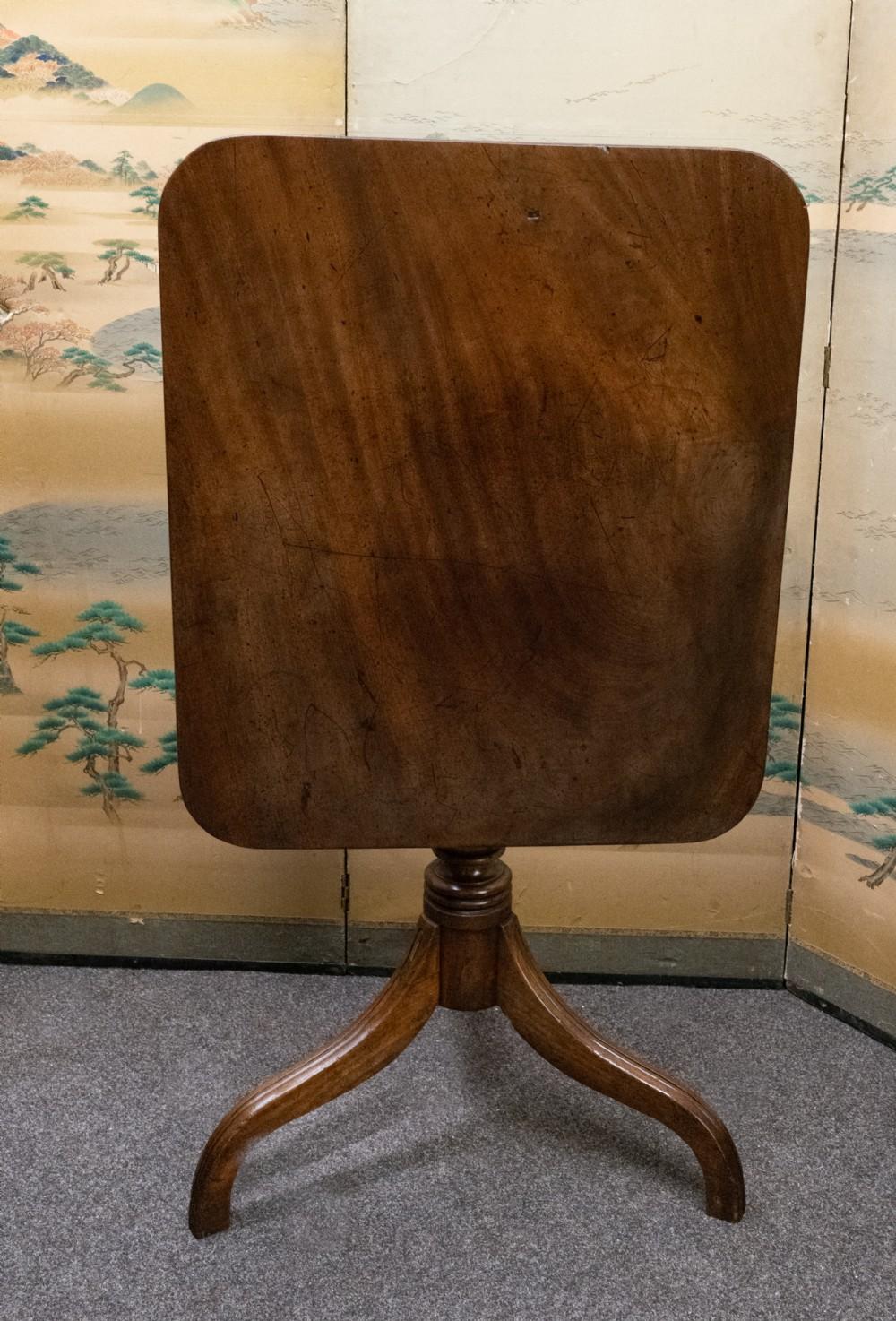 george iii solid mahogany rectangular table