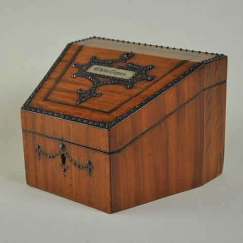 satinwood staionary box