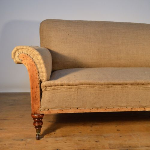 Antique Sofa Reupholstery Cost: 1930's Two Seater Sofa. Reupholstery Included