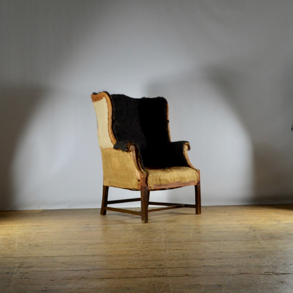 english wing chair upholstery included