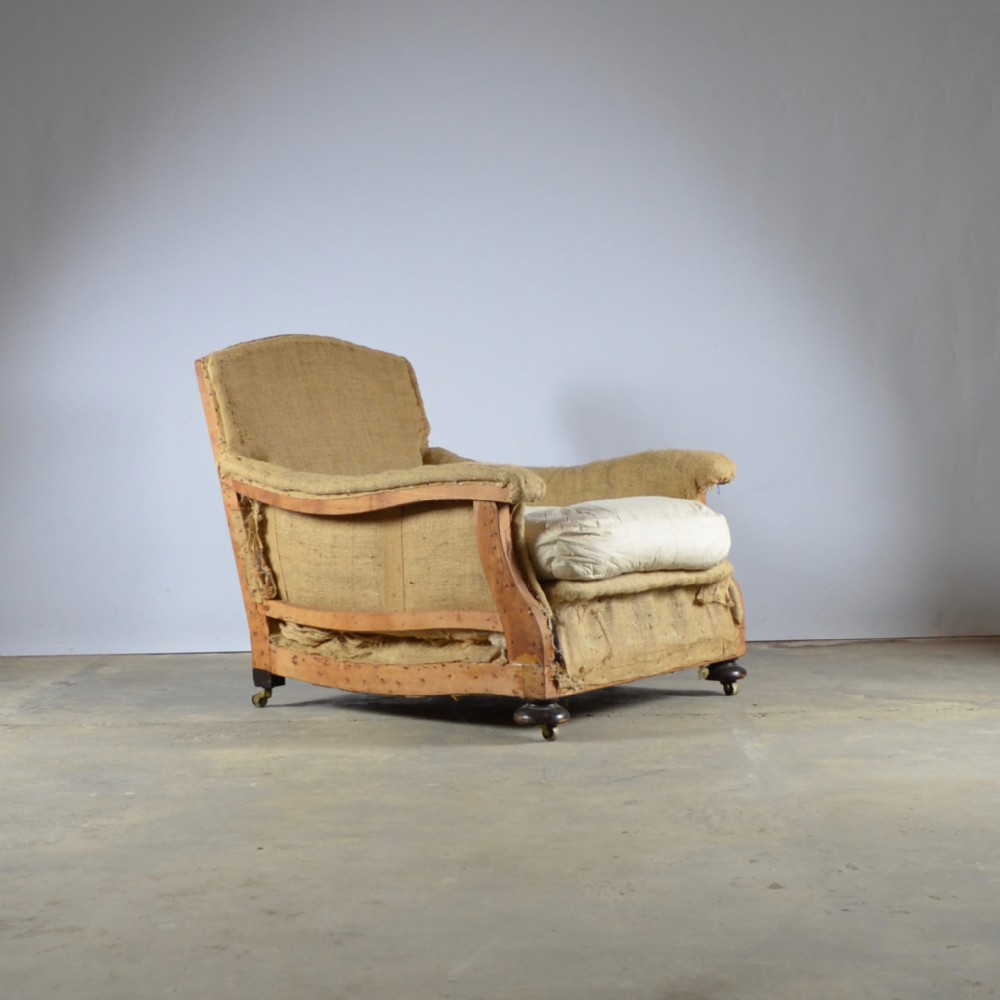 deep seated english armchair upholstery included