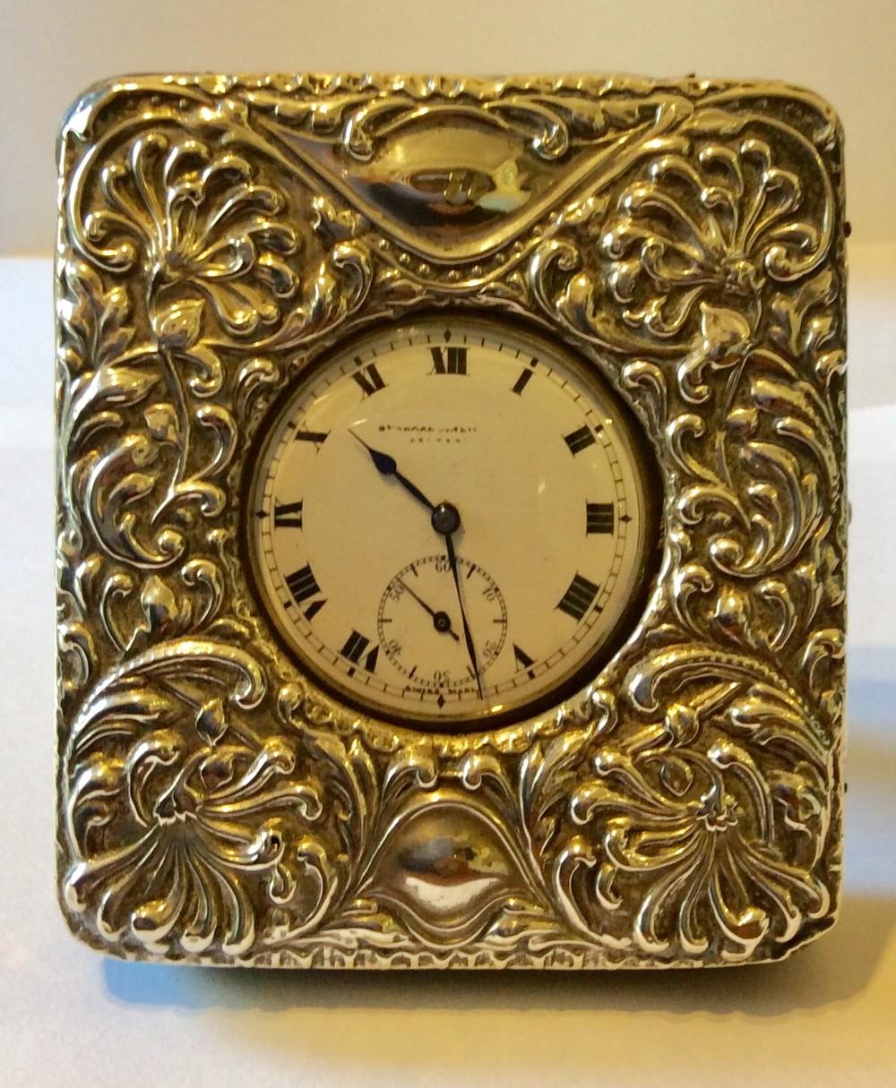 silver pocket watch case