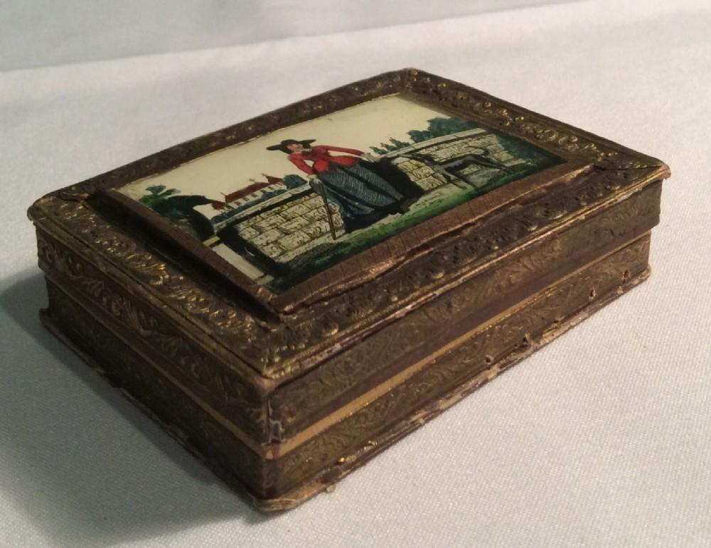 19th century french bon bon box