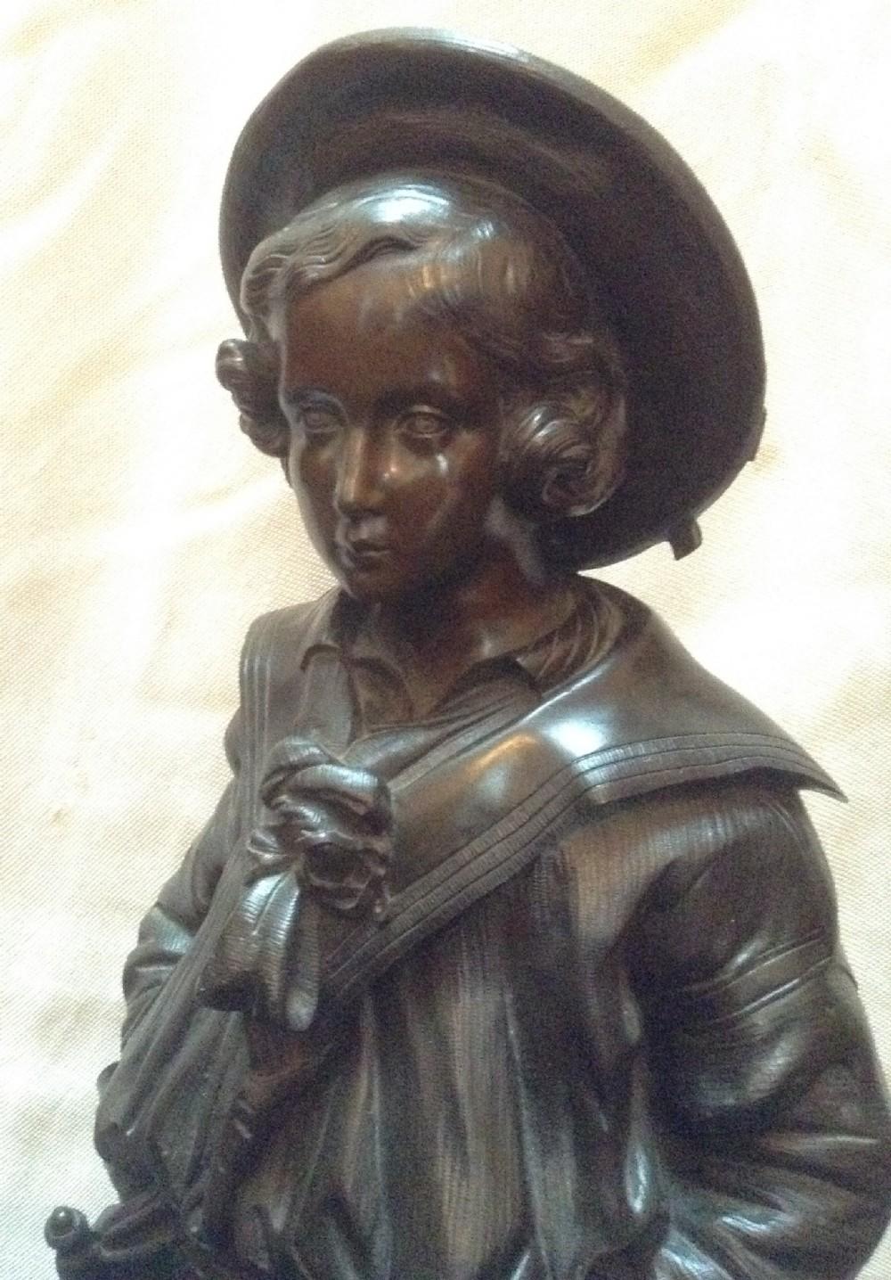 Bronze Of Young Edward Vii Circa 1850 | 362283 ...