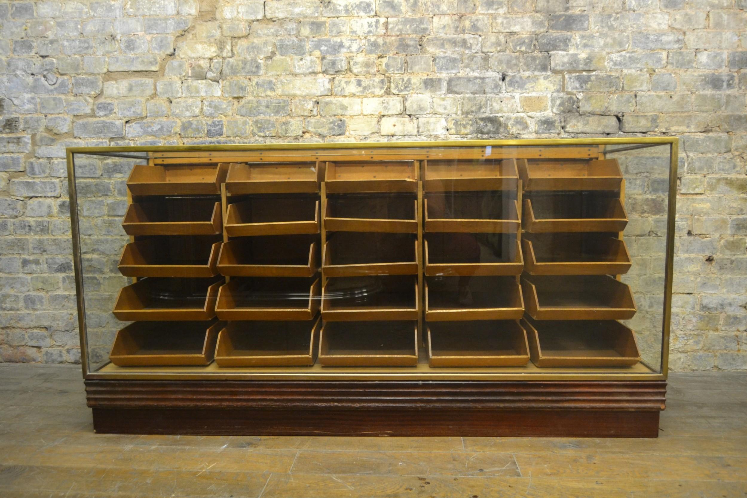 bronze haberdashery drapers counter