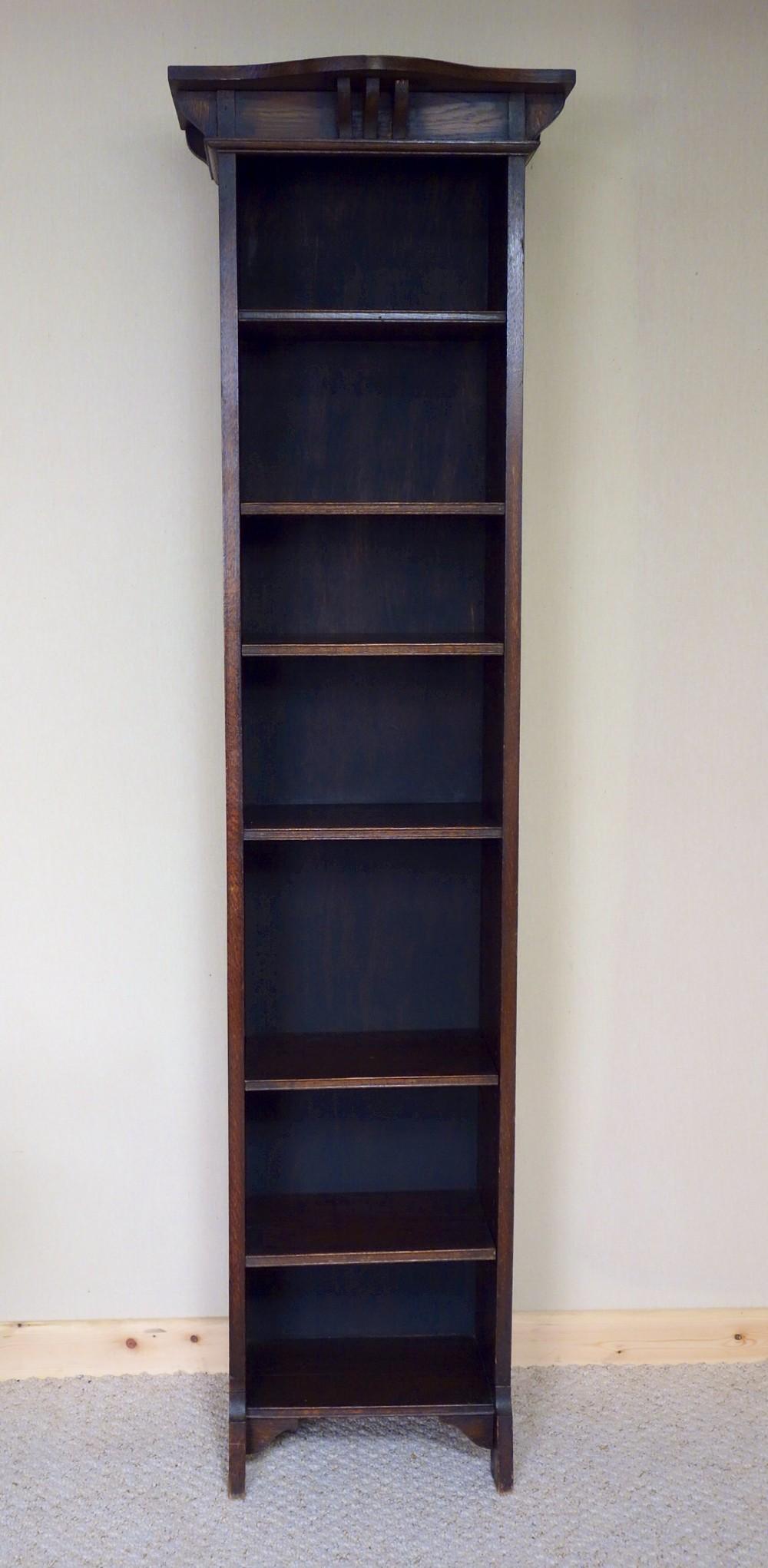 corner tall bookcase graphite cuckooland vox lori narrow brand in