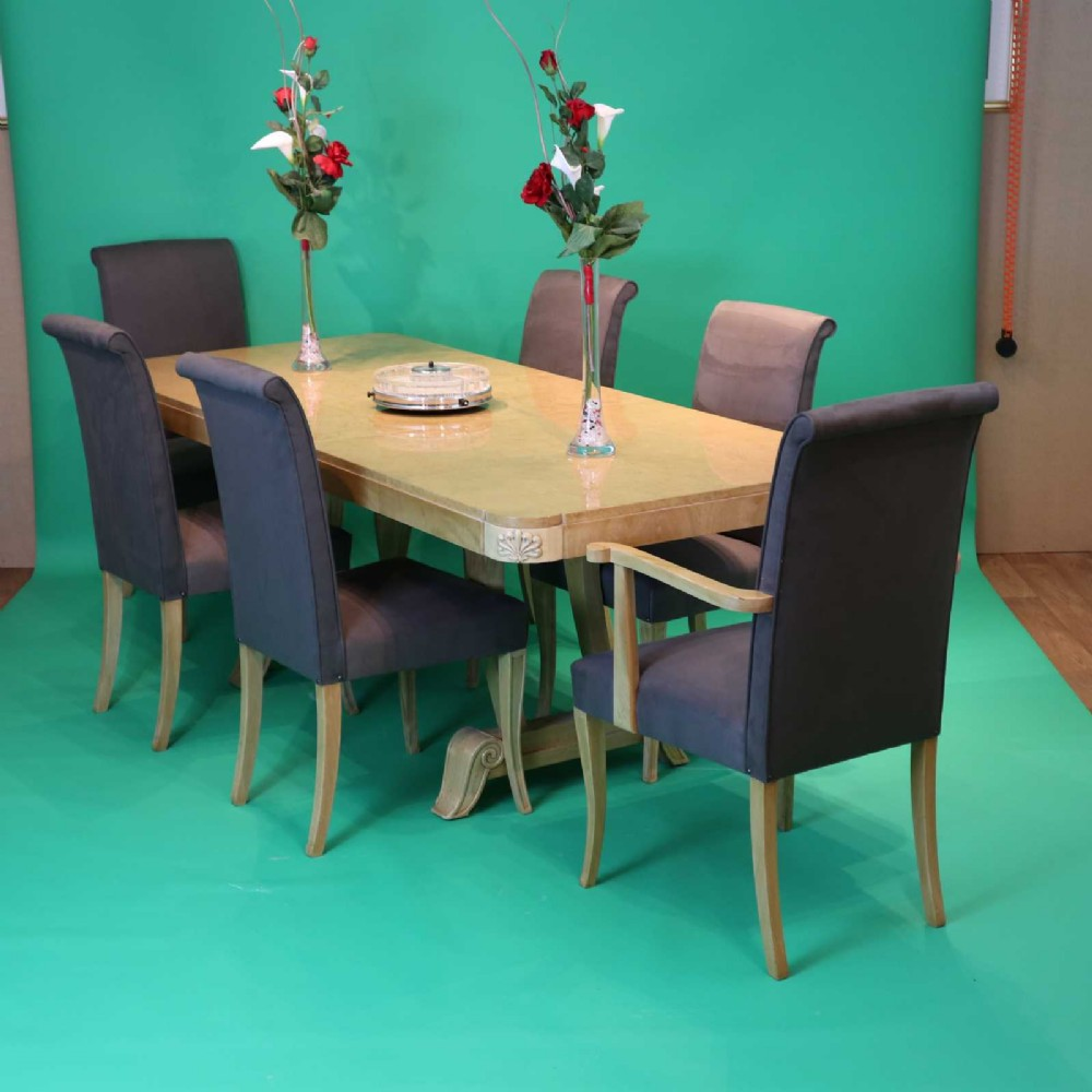 art deco dining suite by hille