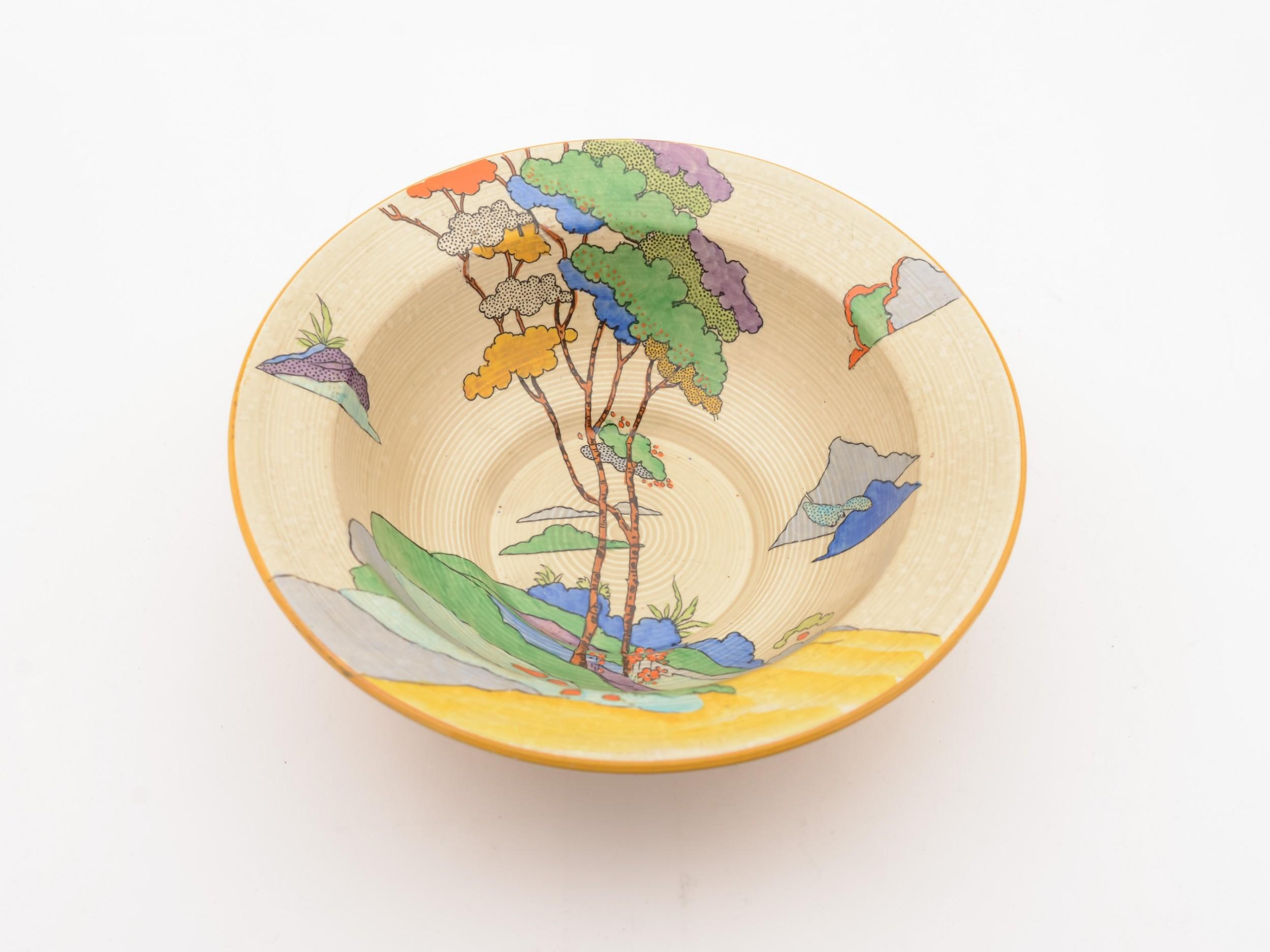 art deco cydonia china bowl circa 1930