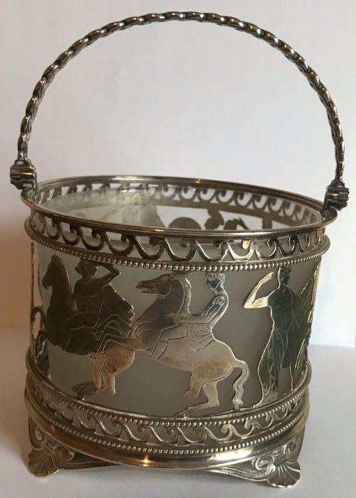silver sugar bowl by elkington co