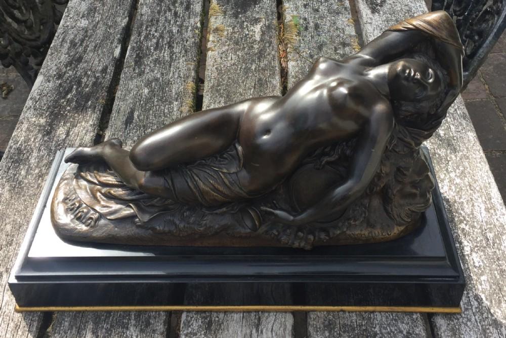 bronze sculpture by jan josef jaquet
