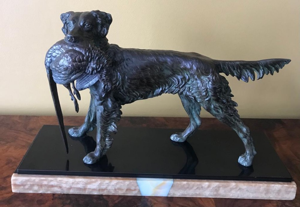 cold painted bronze by jules moigniez