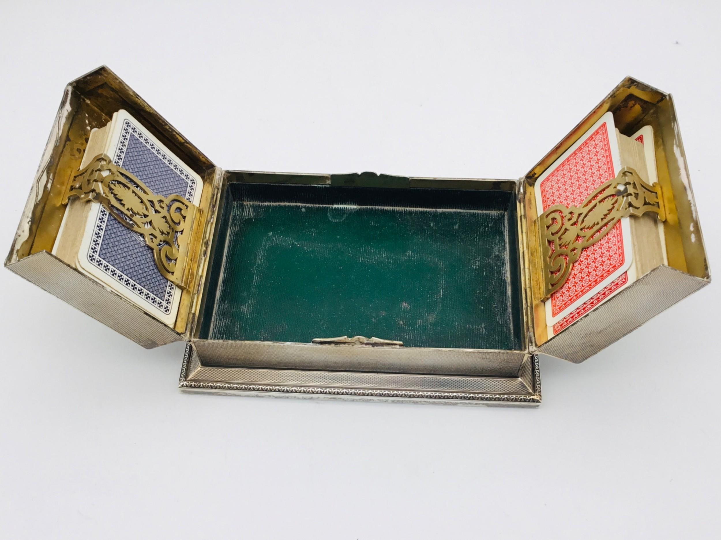 aspreys silver card box