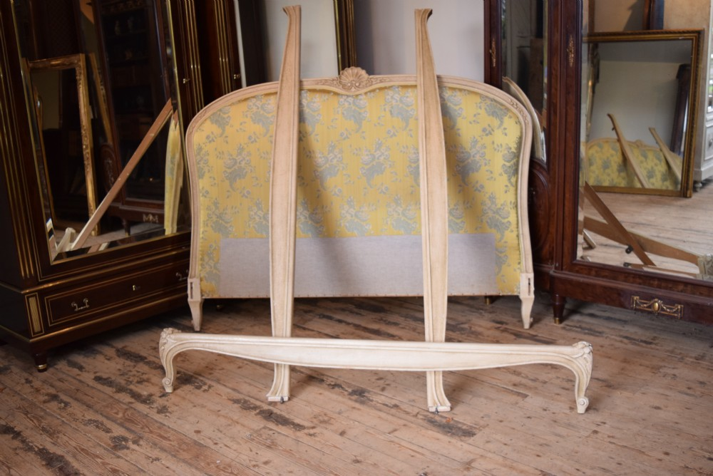 french louis xv style upholstered king size bed