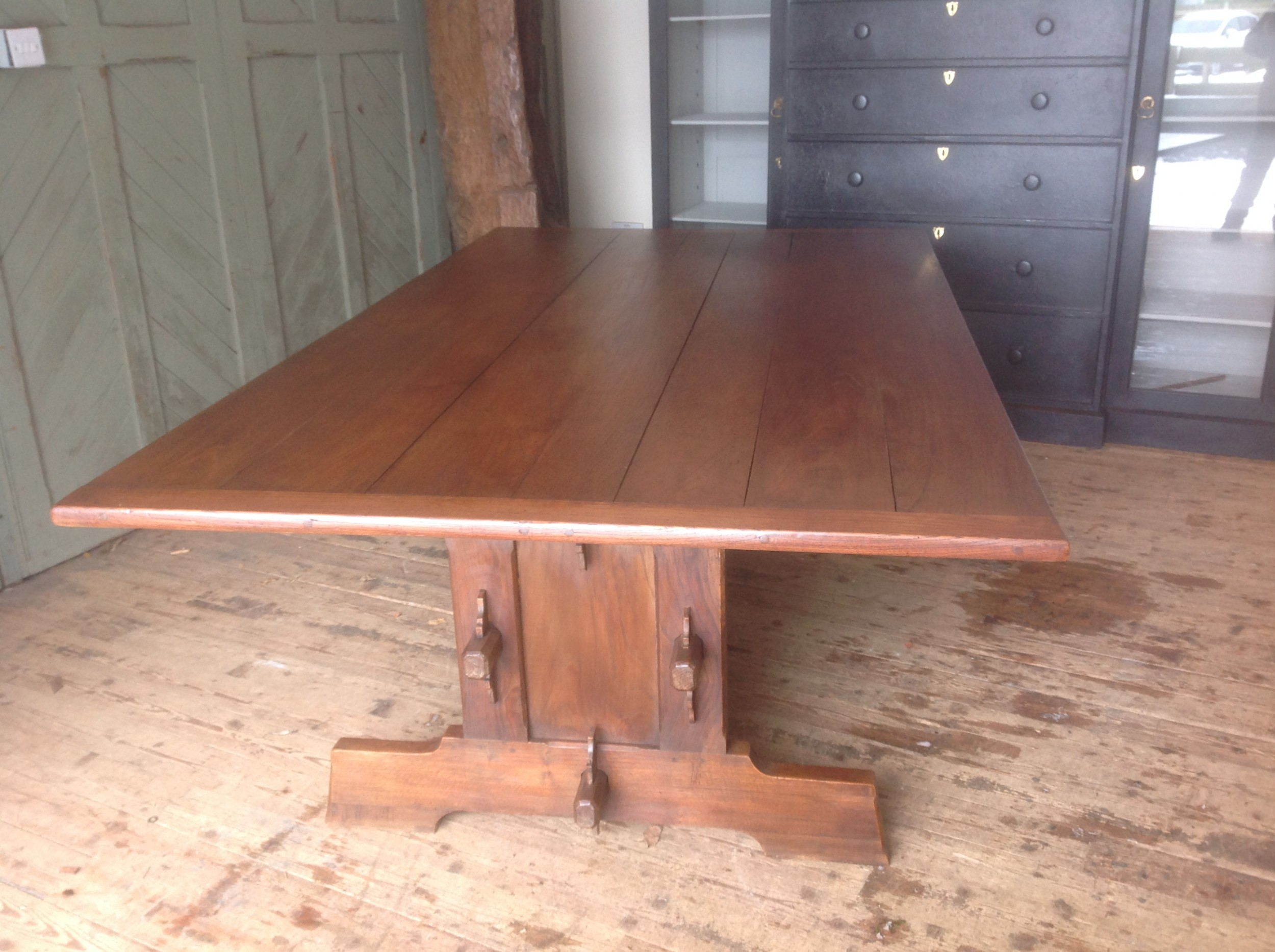french elm dinning table