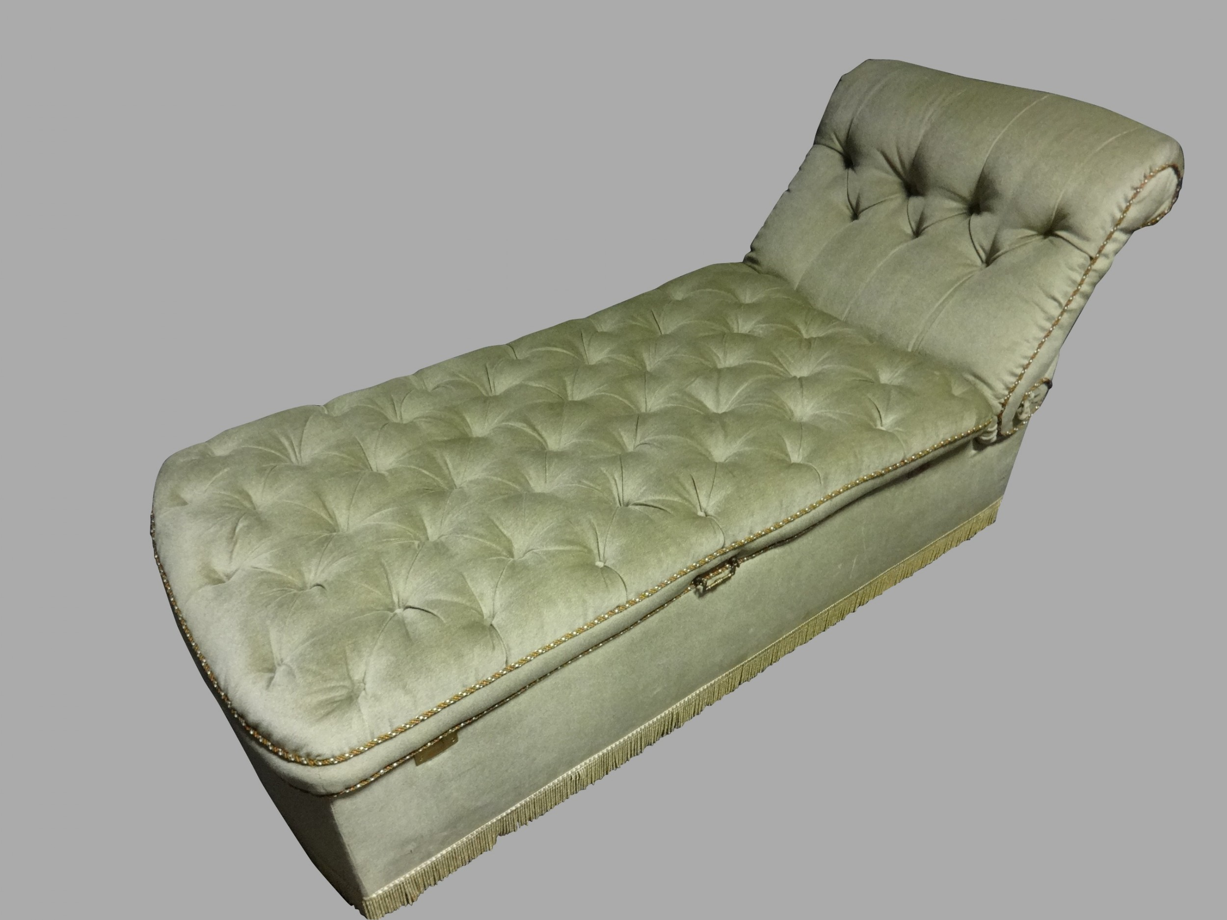 excellent victorian day bed chaise lounge