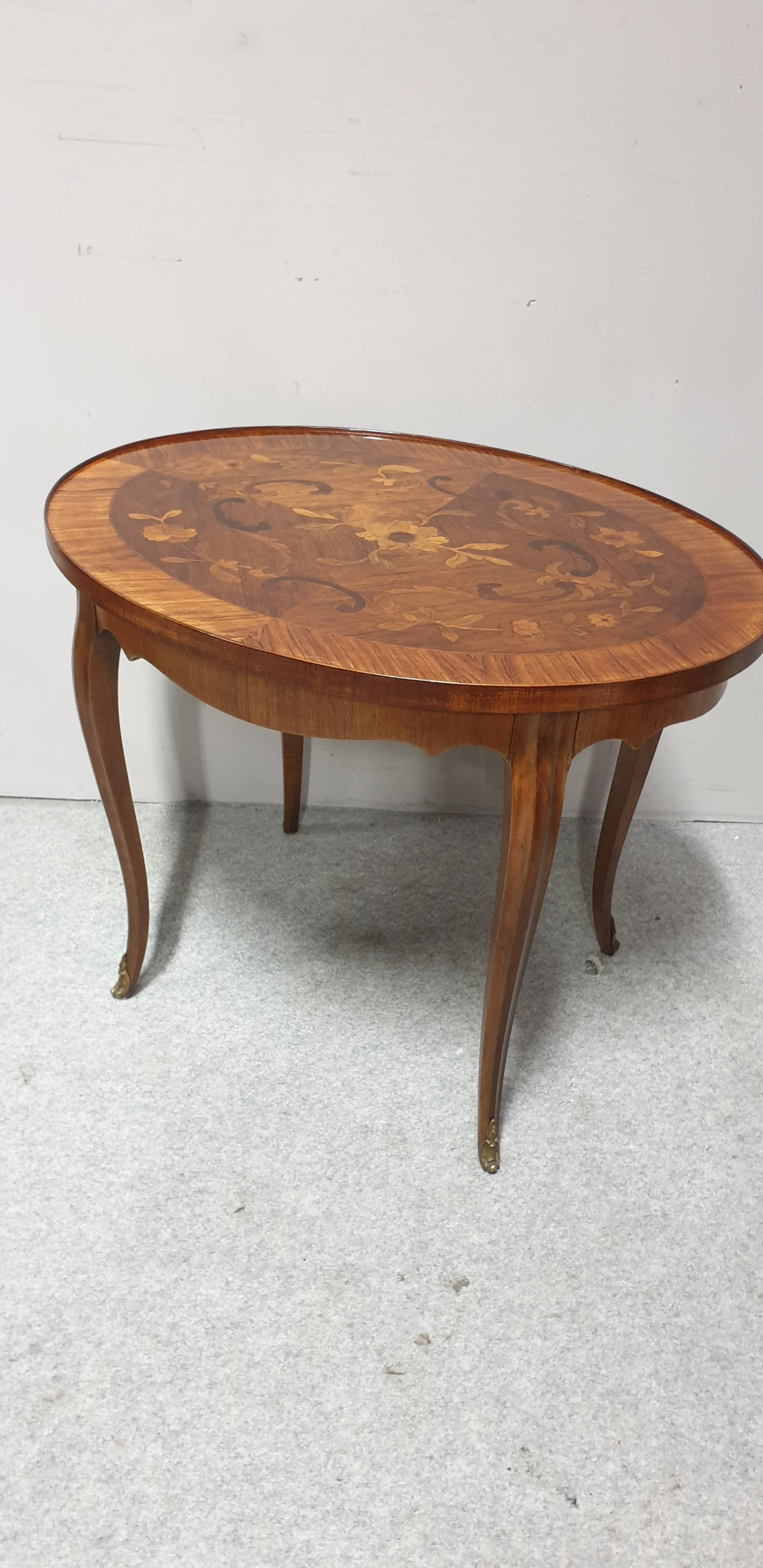 wonderful marquetry coffee table