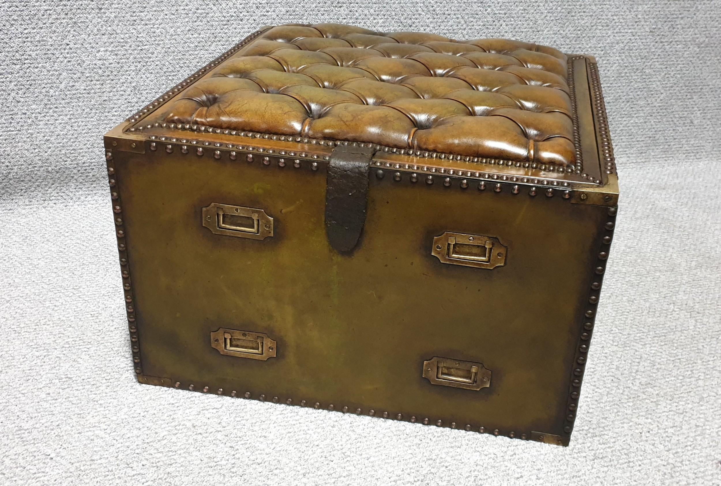super green leather campaign box
