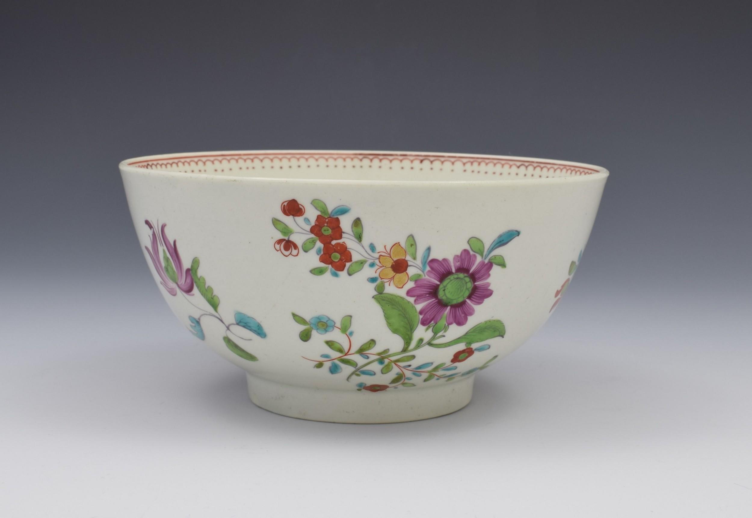 first period worcester kakiemon palette slop bowl